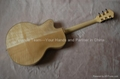 14inch handmade jazz guitar carved with solid wood 2