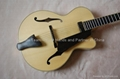14inch handmade jazz guitar carved with solid wood
