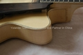 15inch handmade jazz guitar carved with solid wood 3