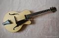 17inch handmade jazz guitar carved with