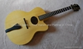 14inch handmade jazz guitar carved with