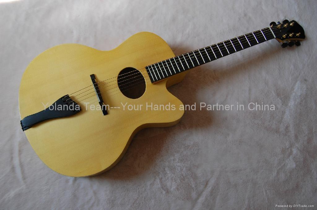 18寸手工爵士吉他 3