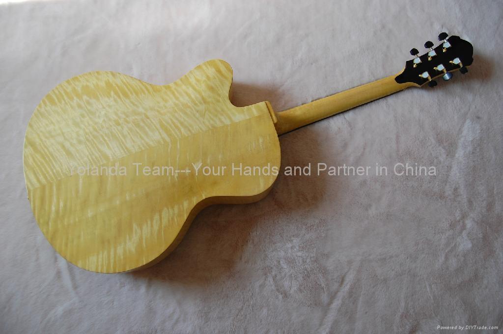 18寸手工爵士吉他 4