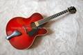 14inch Handmade jazz guitar in red