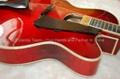 15inch Handmade jazz guitar in red sunburst color 5