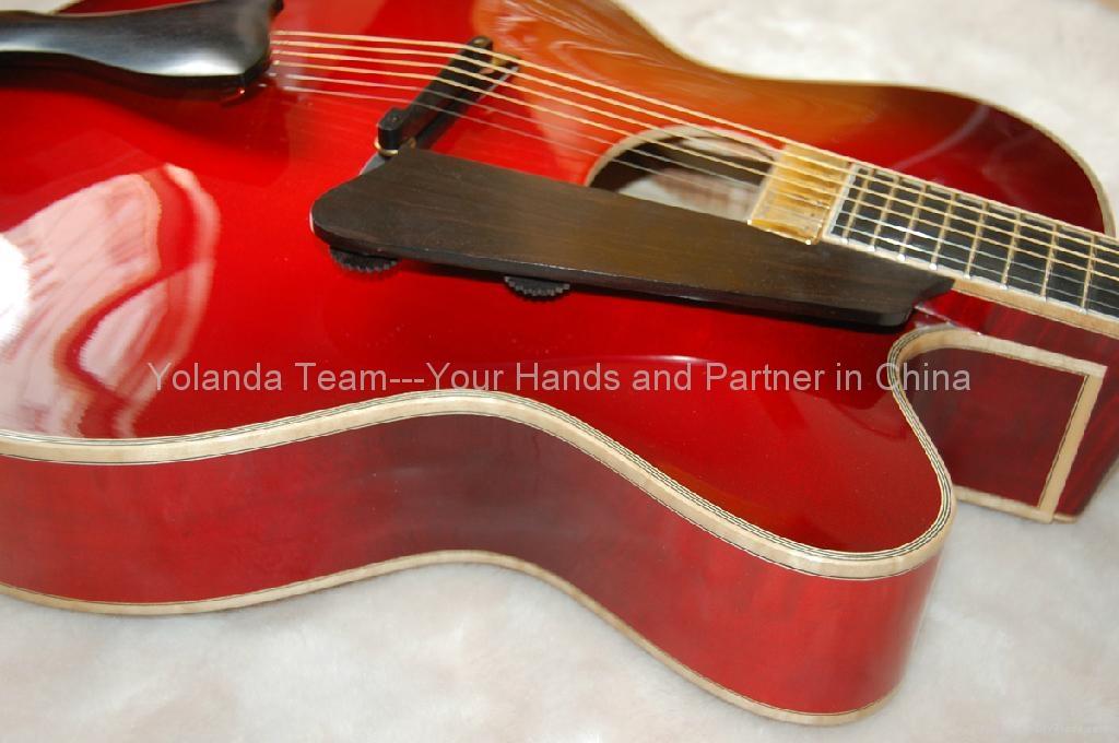 18寸手工爵士吉他 5