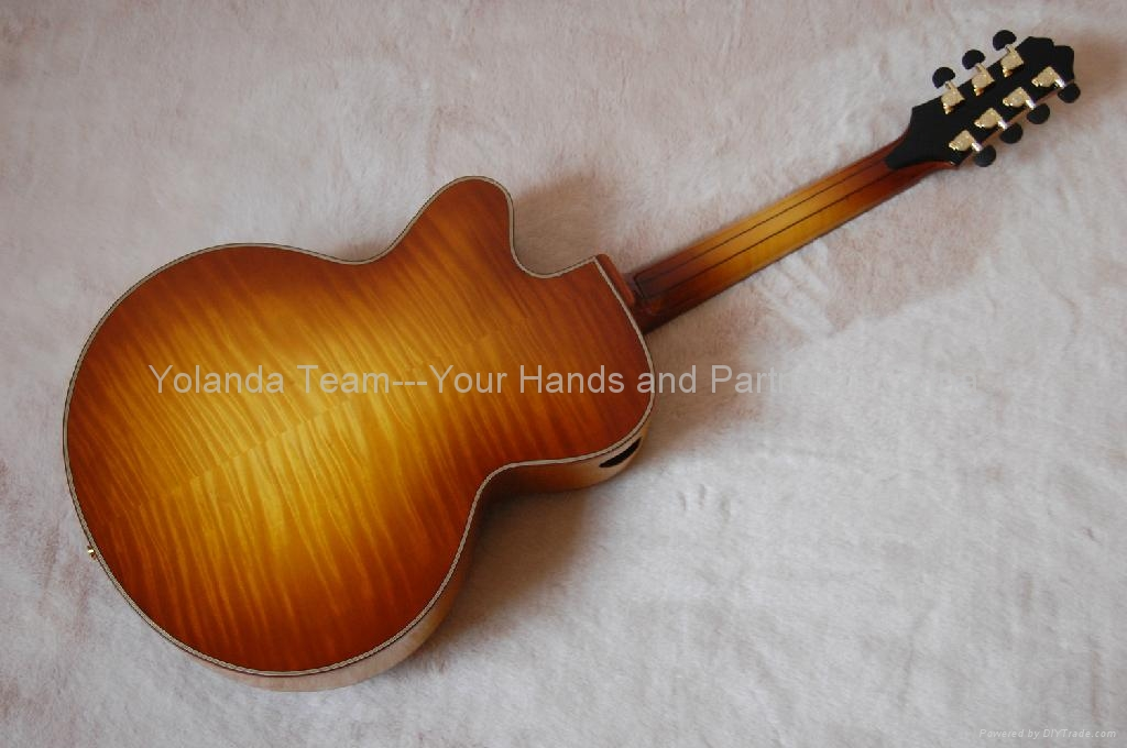 17inch 7 strings handmade jazz guitar 2