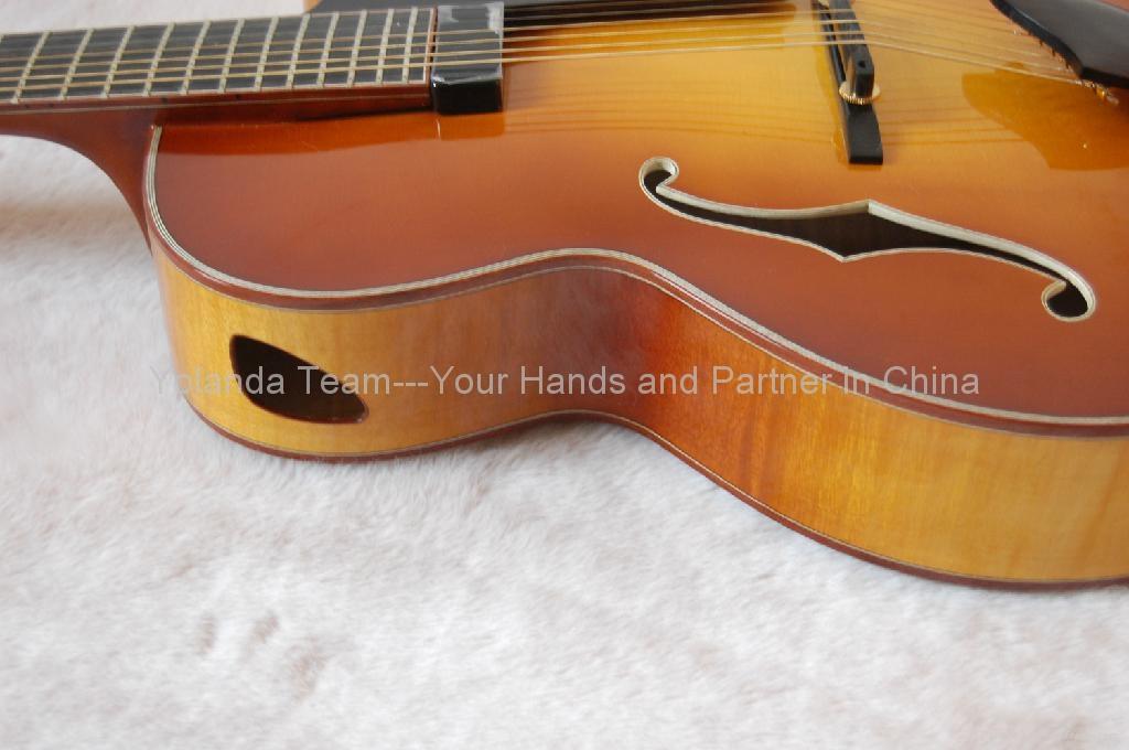17寸7弦手工爵士吉他 4