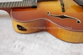 17inch 7 strings handmade jazz guitar 4