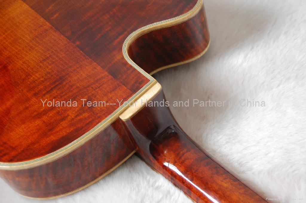 14inch Handmade jazz guitar 4