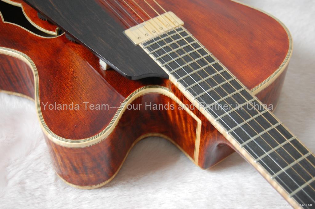 14inch Handmade jazz guitar 5