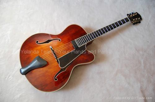 14寸手工爵士吉他 1