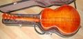 14寸圆角手工爵士吉他 2