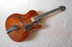 14寸缺角手工爵士吉他