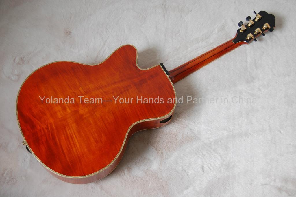 14inch cutaway Handmade jazz guitar 3