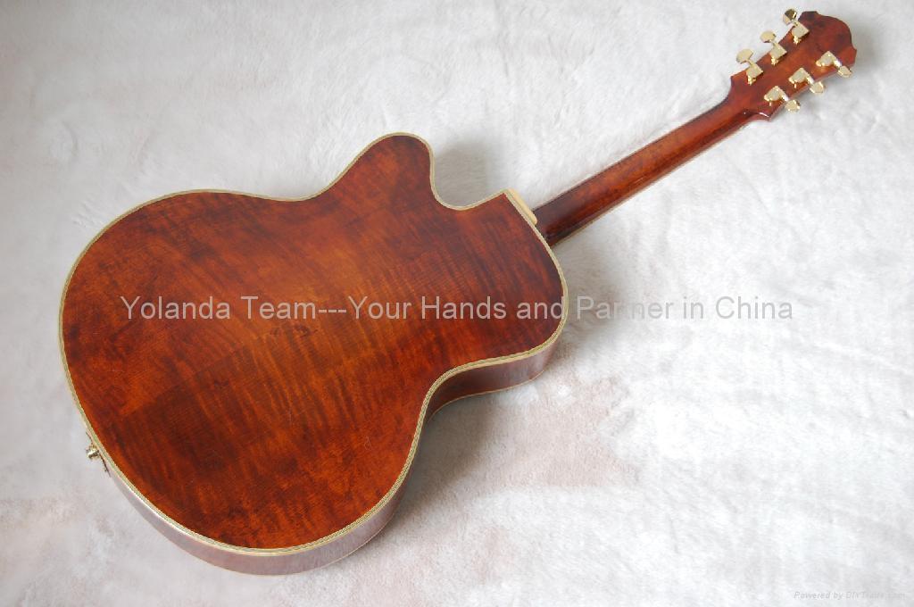 15inch cutaway Handmade jazz guitar 2