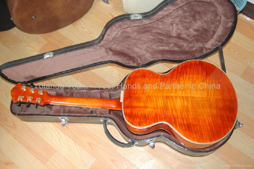 15寸圆角手工爵士吉他 2