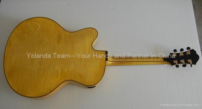 16inch cutaway Handmade jazz guitar 2