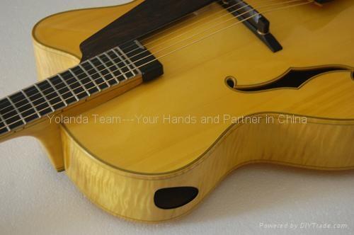 16inch cutaway Handmade jazz guitar 3