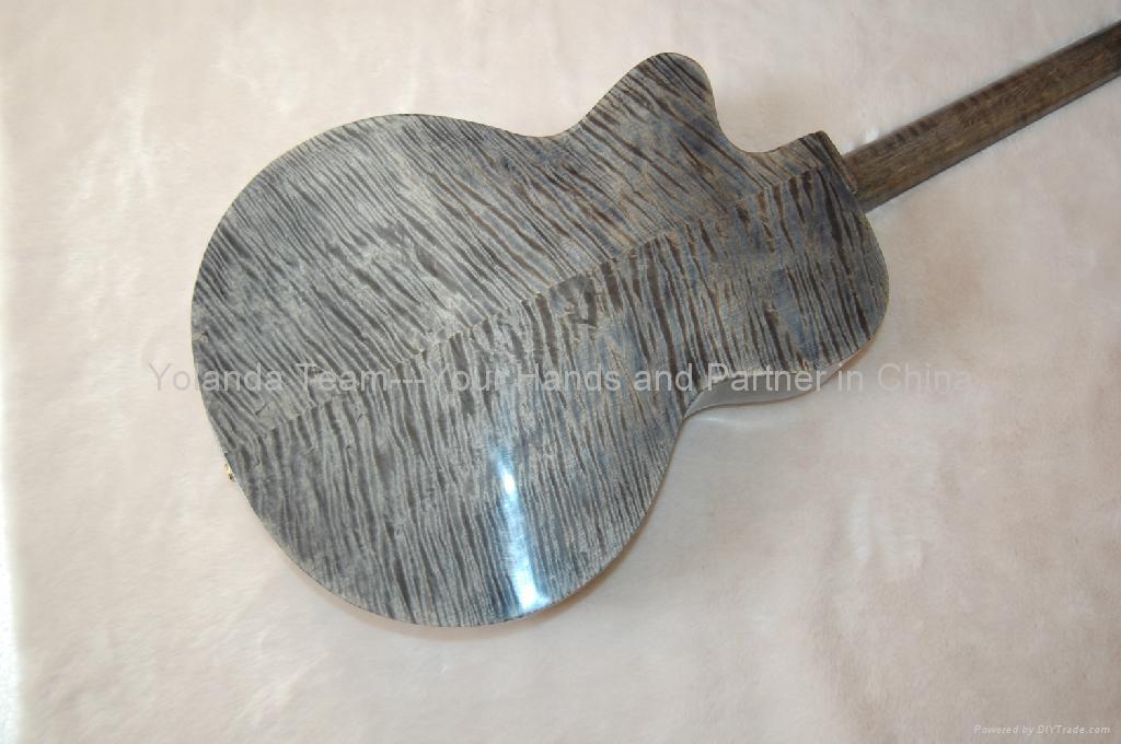 16寸缺角手工爵士吉他 2