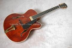16寸缺角手工爵士吉他