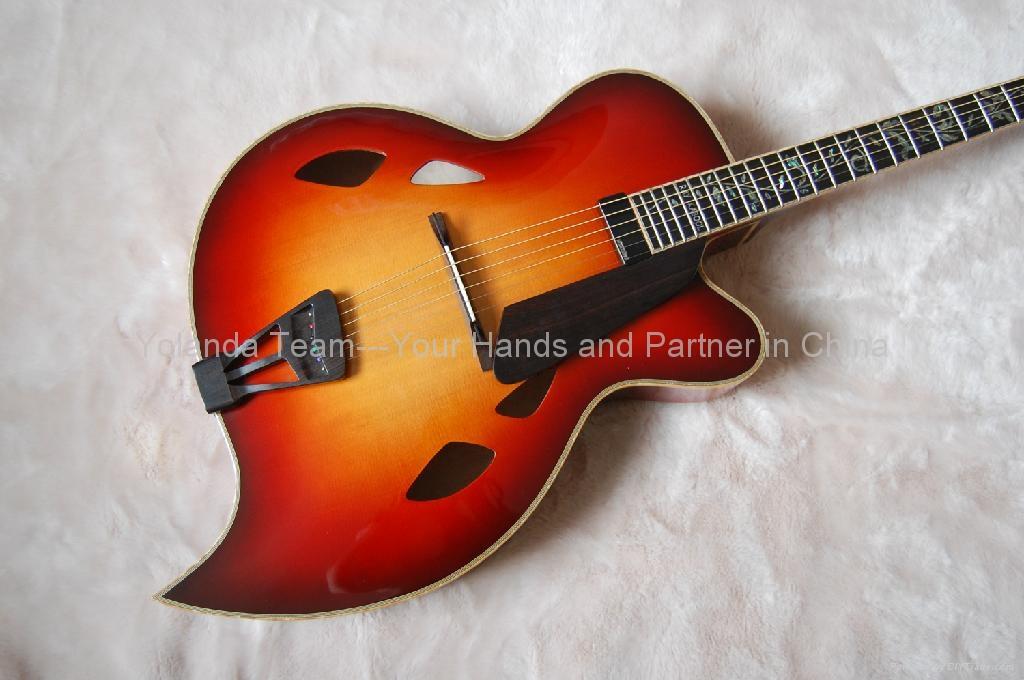 17寸手工爵士吉他 2