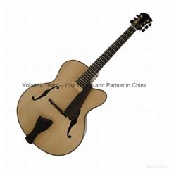 14寸手工爵士吉他