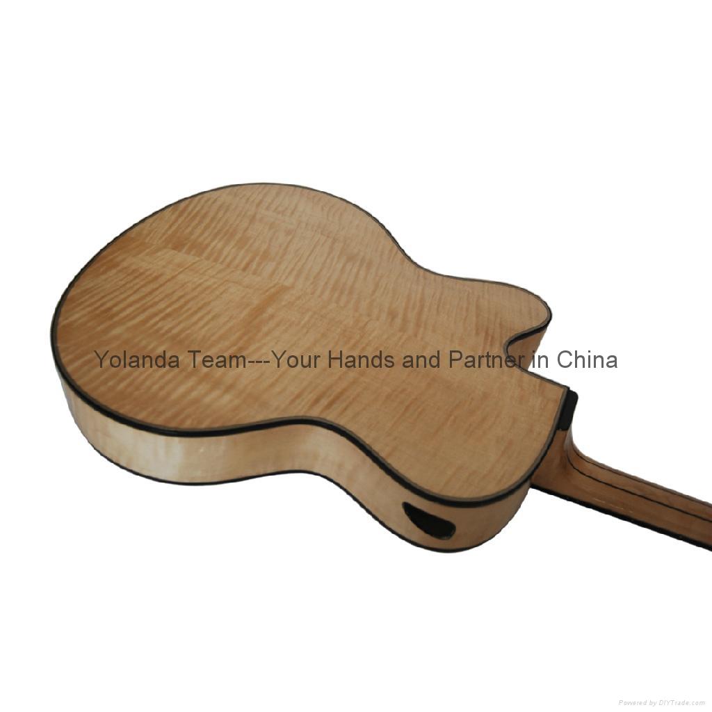 14寸手工爵士吉他 2