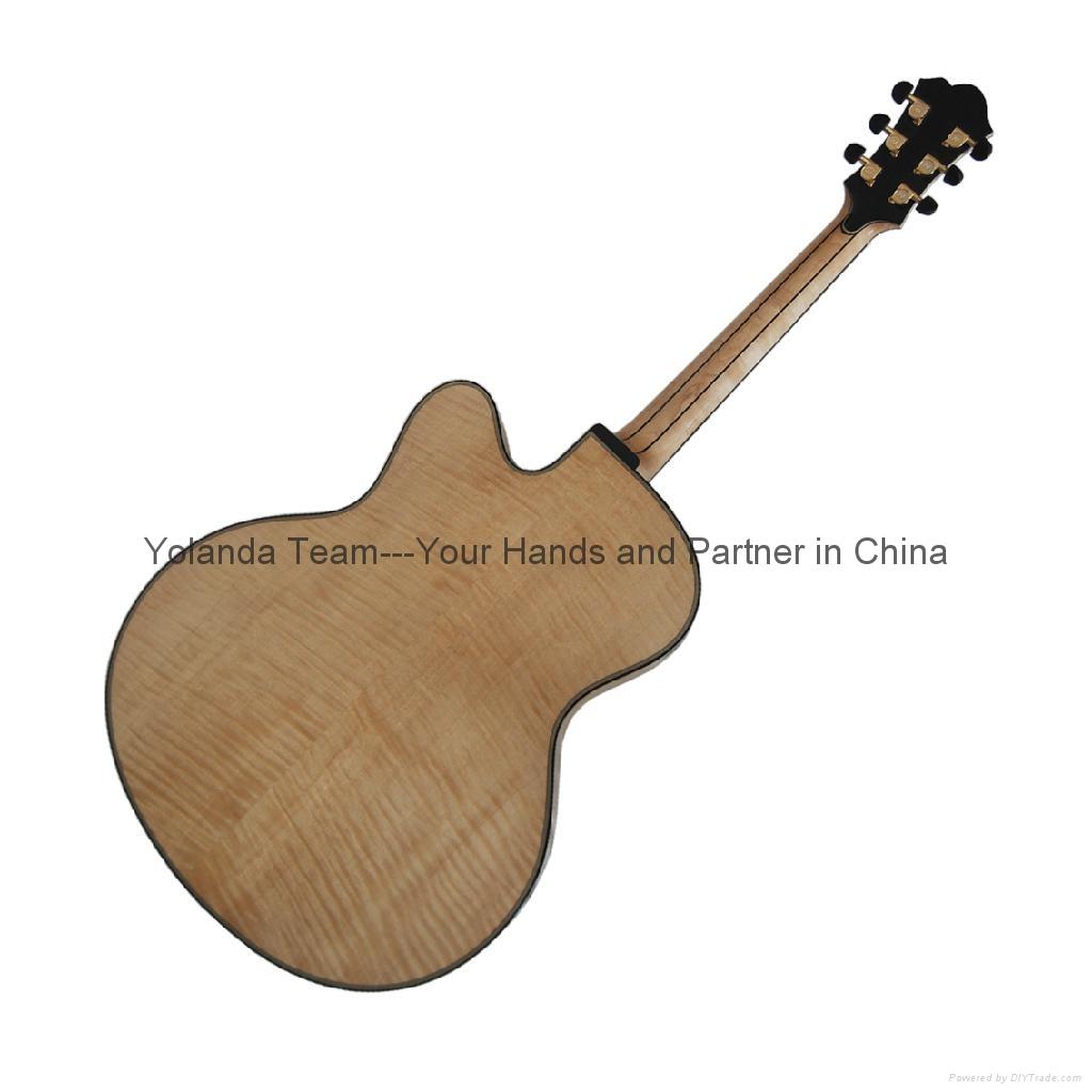 14寸手工爵士吉他 4