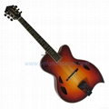 16inch teardrop style jazz guitar