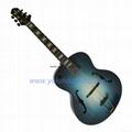 17inch Non-cutaway handmade jazz guitar