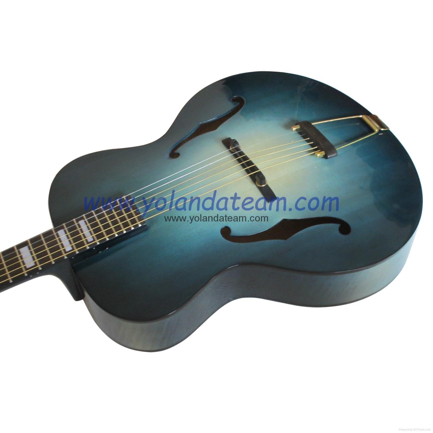 17寸手工爵士吉他 7