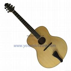 17inch handmade non-cutawau jazz guitar