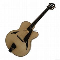 17inch handmade jazz guitar