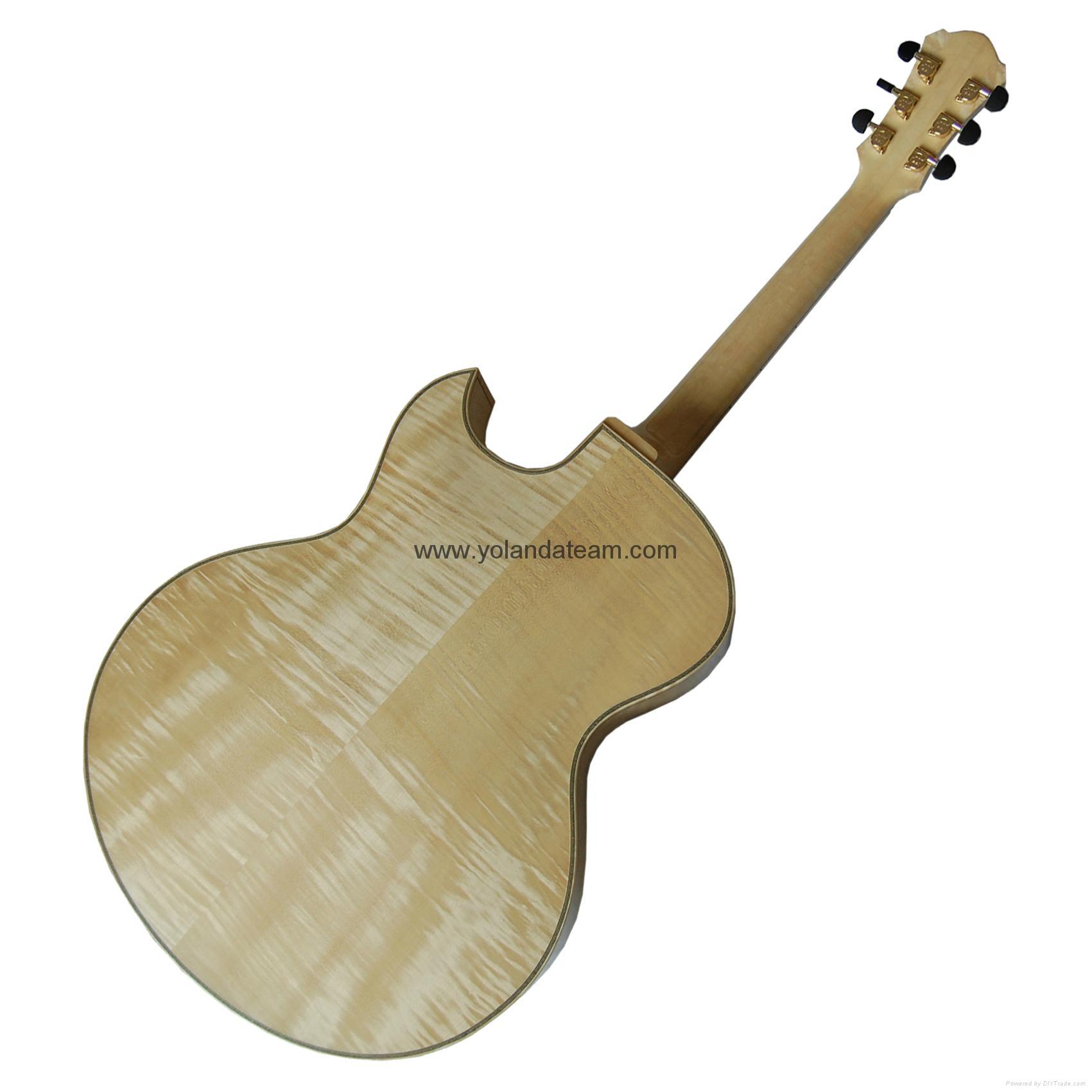 17寸尖角爵士吉他 2