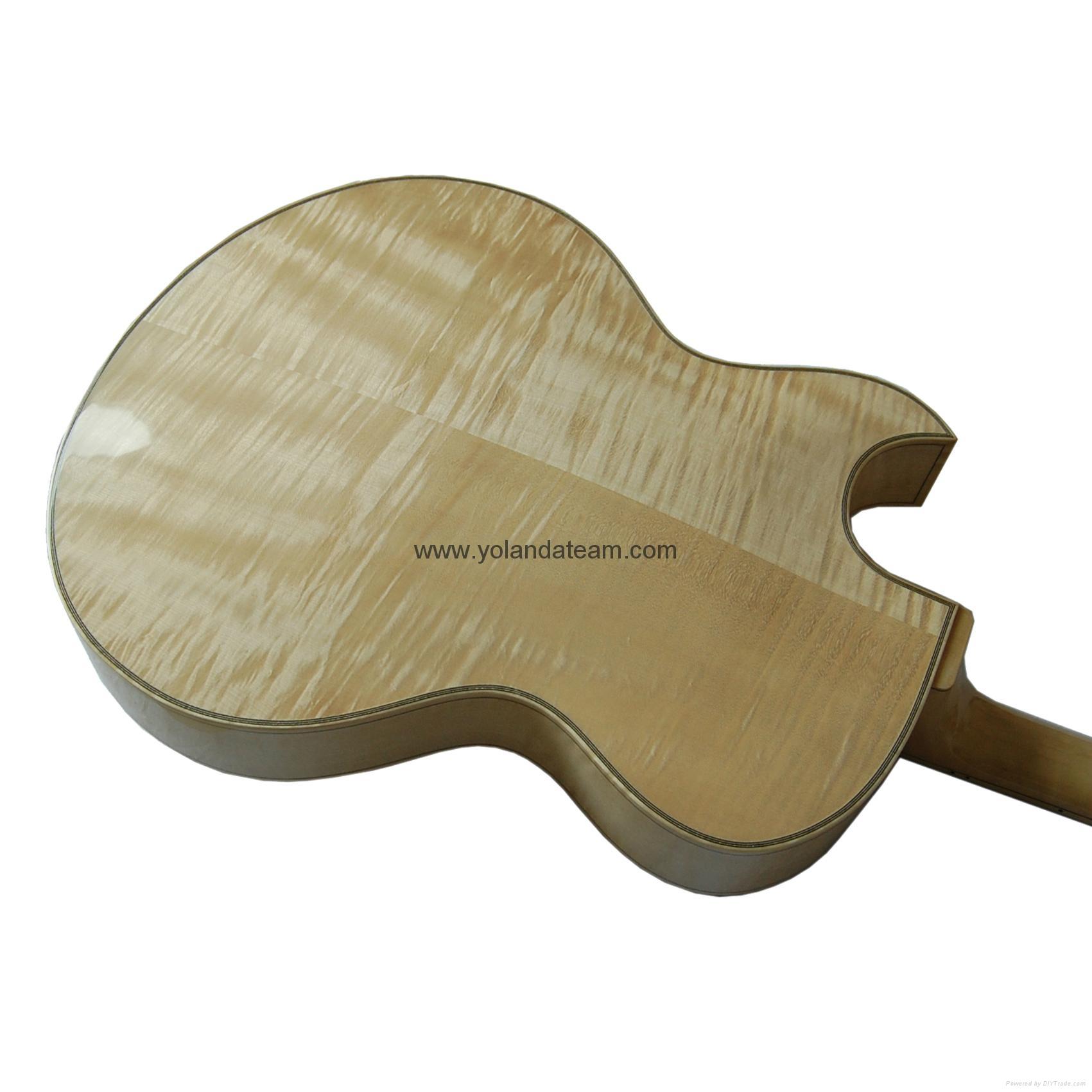 17寸尖角爵士吉他 9