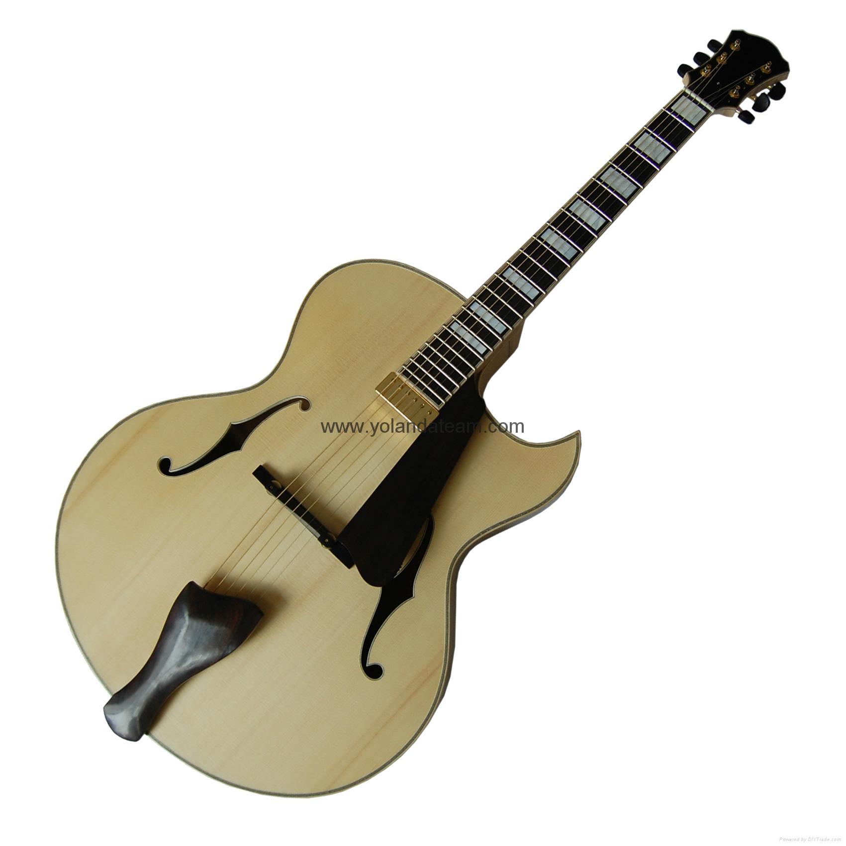 17寸尖角爵士吉他 1