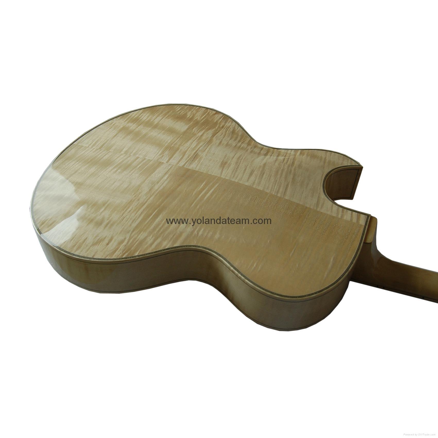 17寸尖角爵士吉他 8