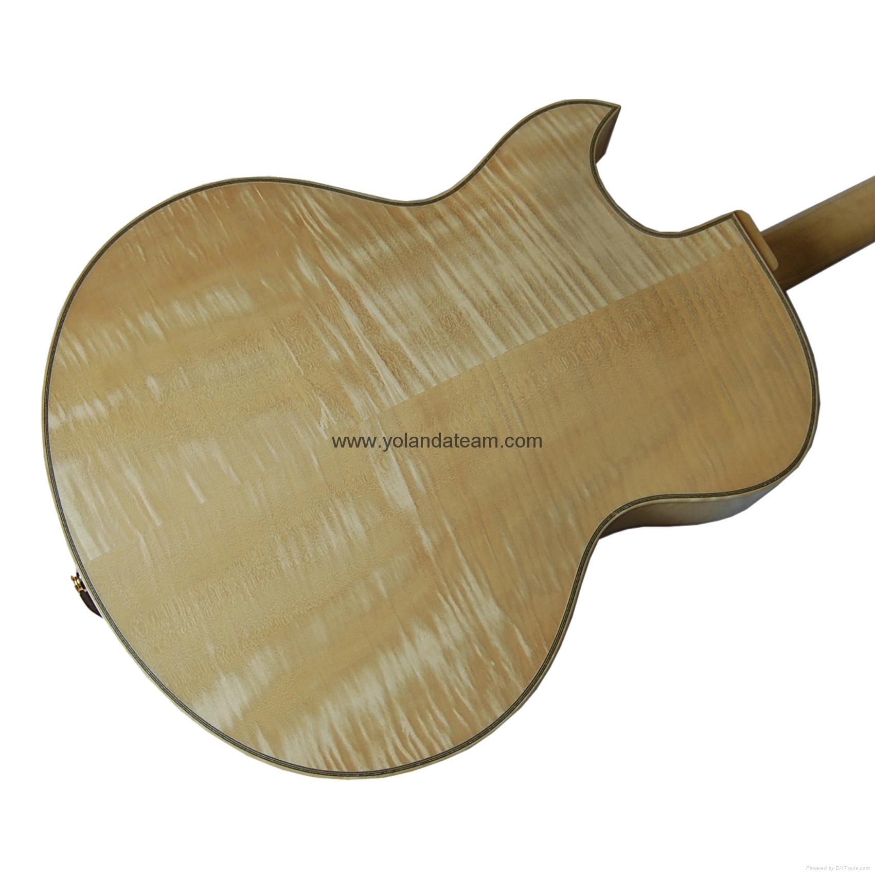 17寸尖角爵士吉他 4