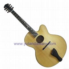 18inch handmade jazz guitar with armrest