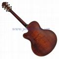 17inch archaizeed color handmade jazz guitar