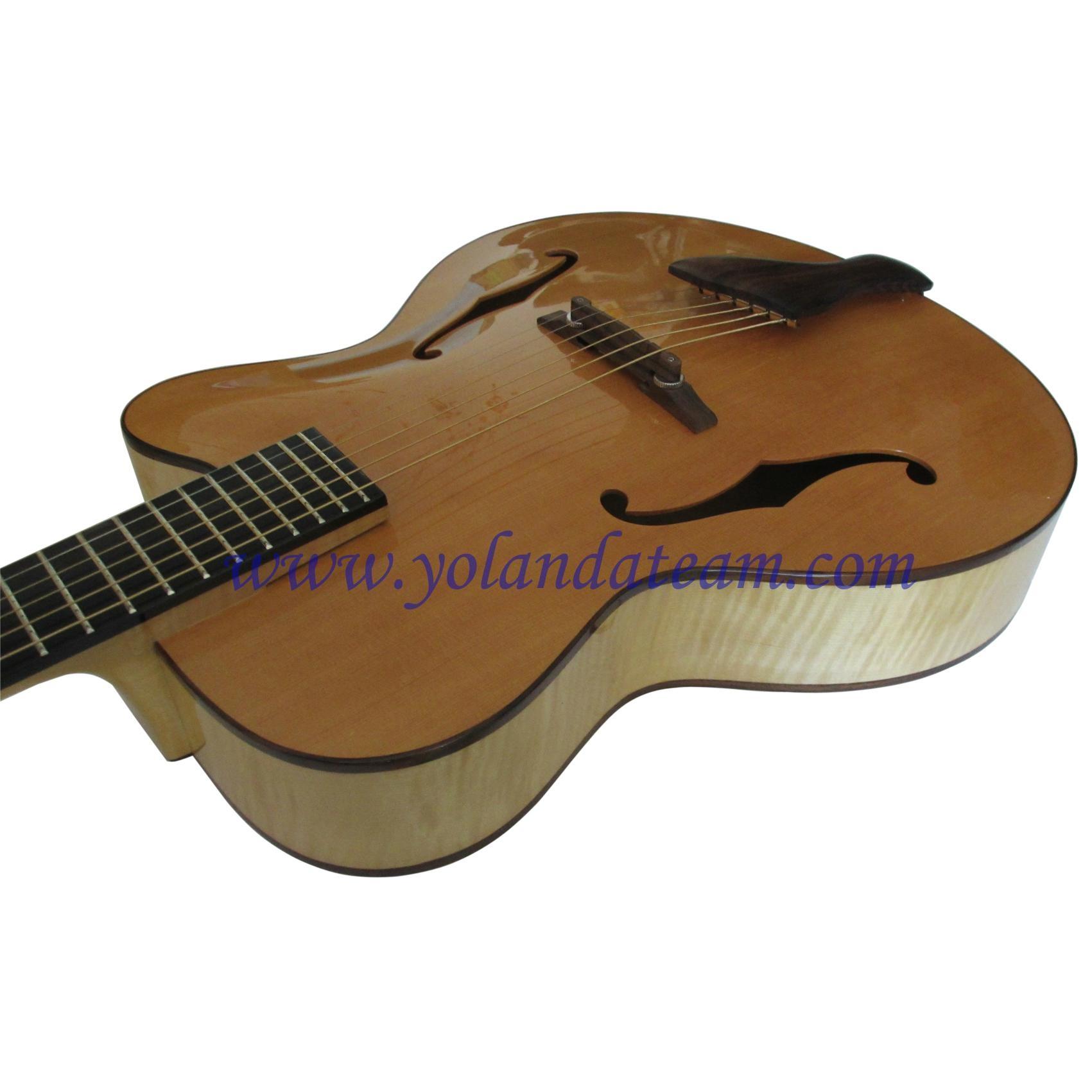 17inch handmade jazz guitar  5