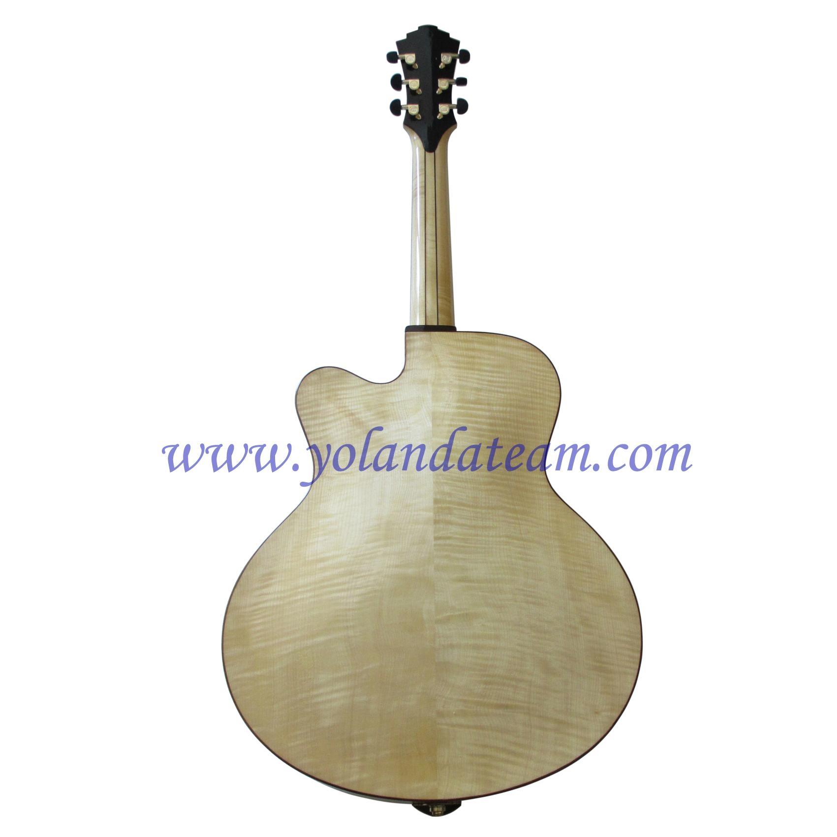 17inch handmade jazz guitar  4