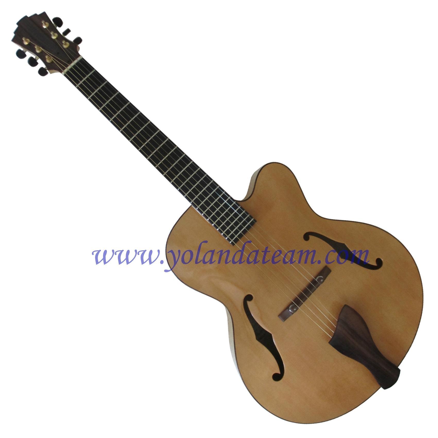 17inch handmade jazz guitar  1
