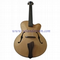 17inch handmade jazz guitar  3