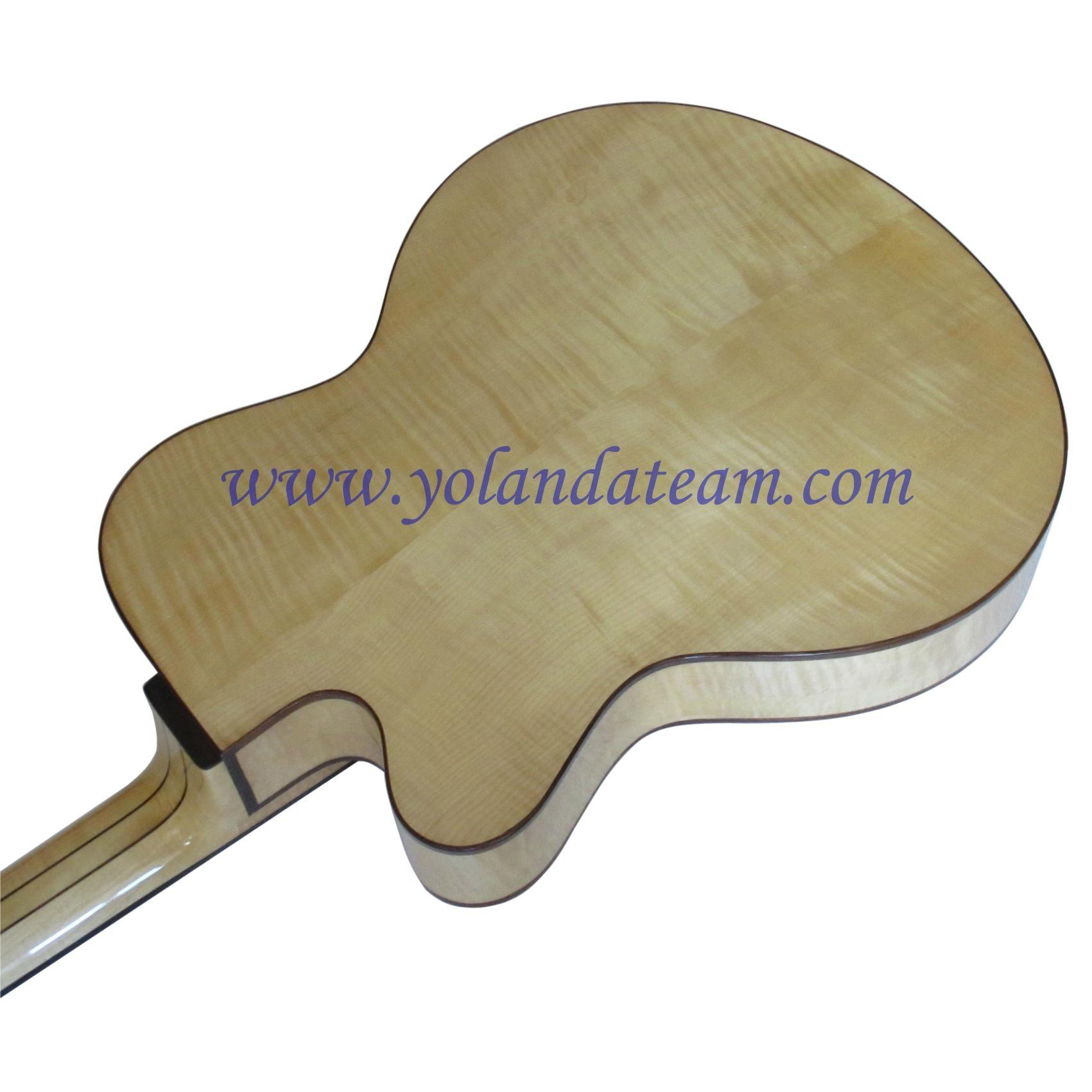 17inch handmade jazz guitar  6