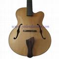 17inch handmade jazz guitar  7