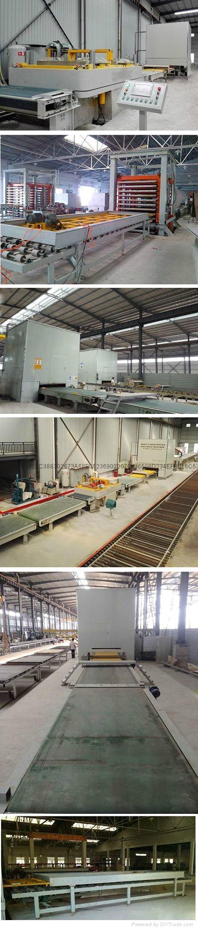 Artificial quartz stone production line 1
