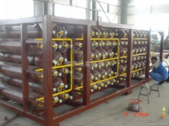 大容量壓縮天然氣高壓儲氣鋼瓶組