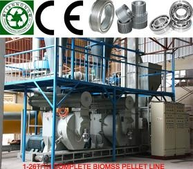 Biomass pellet machine complete sets of equipment 3